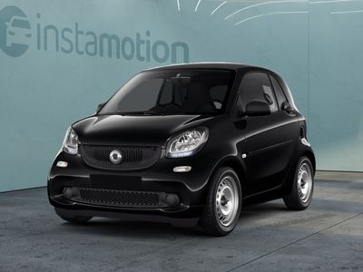 gebraucht Smart ForTwo Coupé ForTwo66 kW turbo twinamic Cool&Audio Klima Blu
