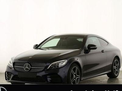 gebraucht Mercedes C200 Coupé AMG **9G/Navi/Spur/Kamera/Night
