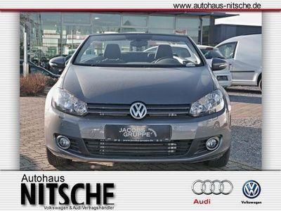 gebraucht VW Golf Cabriolet VI 1.6 TDI 5-Gang Klima,