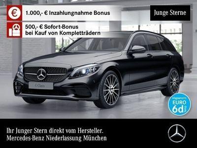 gebraucht Mercedes C400 T 4M AMG Pano Multibeam Distr. COMAND Night