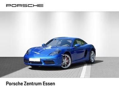 gebraucht Porsche 718 Cayman CaymanS / El. Verdeck, PDC, SHZ, 360 Kamera, Bi-Xenon, Alarm