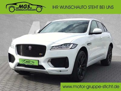 gebraucht Jaguar F-Pace 30d AWD S #LED #ACC #AHK, Gebrauchtwagen, bei MGS Motor Gruppe Sticht GmbH & Co. KG