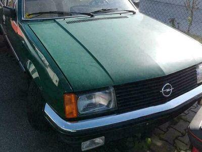 gebraucht Opel Rekord Verkaufe hier meinenE1 Scheun...