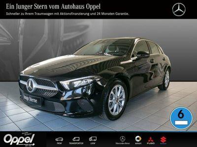 gebraucht Mercedes A200 EU6d-Temp+Navi+Klima+Parktronic+Tempomat+