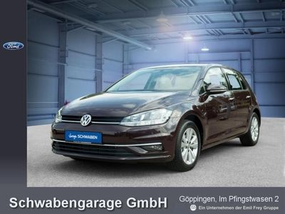 gebraucht VW Golf VII 1.6 TDI BlueM. DSG Comfortline Navi Klima