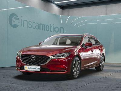 gebraucht Mazda 6 62.5 SKYACTIV-G 194 Sports-Line Automatik Navi