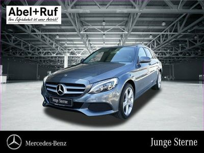 gebraucht Mercedes C220 d T LED Navi Kamera EasyPack Tempomat SHZ