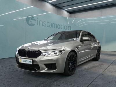 gebraucht BMW M5 M5xDrive B&W+AKTIVSITZ+LEDER+HUD+ONLINE-ENTERT.