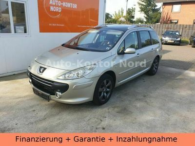 gebraucht Peugeot 307 SW 2.0 HDI Automatik Xenon Navi