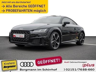 gebraucht Audi TT Coupé 40 TFSI S tronic S line selection, smartphone interface, 19 Zoll, DAB KLIMA LED NAVI ALU