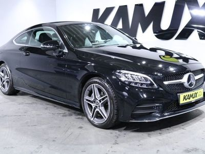 gebraucht Mercedes C200 Coupe 9G-Tronic AMG Sport +LED +Navi +Park-Assist