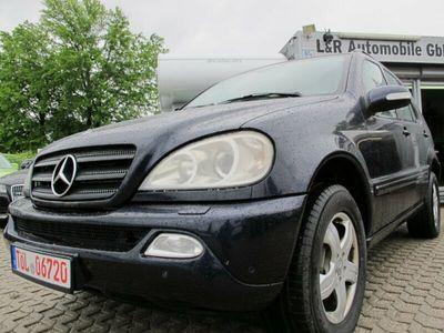 gebraucht Mercedes ML270 M-KlasseCDI Automatik Xenon Navi Leder