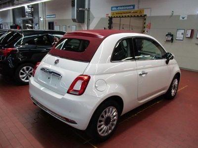 gebraucht Fiat 500C 500 Cabrio Lounge 1.2 8V PDC ALU Klimaautomatik
