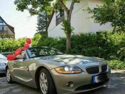 gebraucht BMW Z4 2.2i e85 11/2004 220.000km olivmeta... als Cabrio/Roadster in Bad Friedrichshall