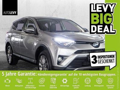 gebraucht Toyota RAV4 Hybrid 4x4 Team Deutschland *Navi*Leder*AHK*