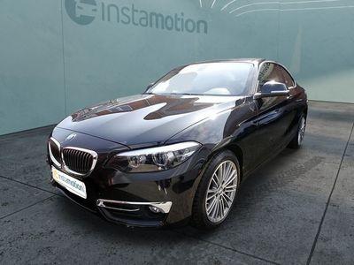gebraucht BMW 218 218 d Coupe Luxury Line Automatikgetriebe