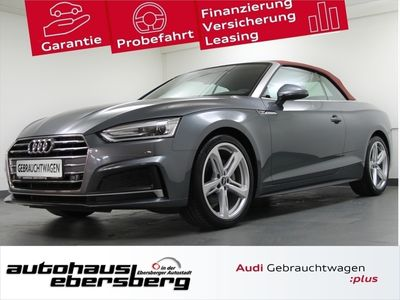 gebraucht Audi A5 Cabriolet sport 2.0 TDI S line 5JG ACC StHz