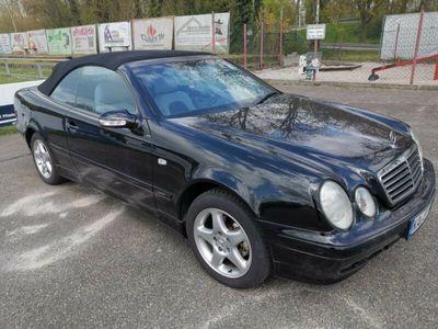 gebraucht Mercedes CLK200 Avantgarde I Vollleder