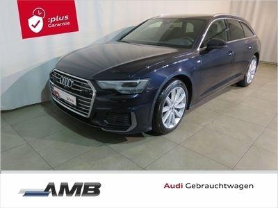 gebraucht Audi A6 Sport 50 TDI S line-Ext/LED/ACC/Nav+/5J