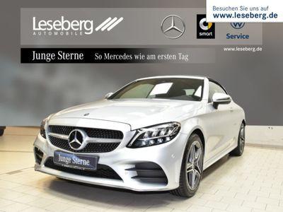 gebraucht Mercedes C180 Cabriolet AMG Line/LED/Navi/Spur/Kamera