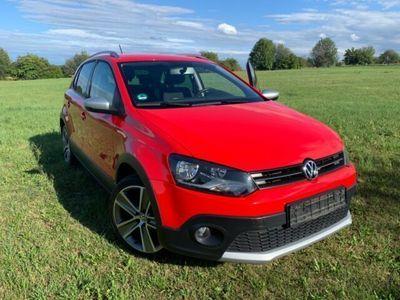 gebraucht VW Polo Cross 1.2 TSI Polo rot *TOP*