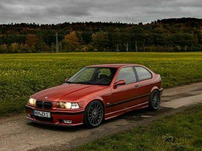 gebraucht BMW 323 Compact E36 Compact ti sierrarot als Kleinwagen in Homburg