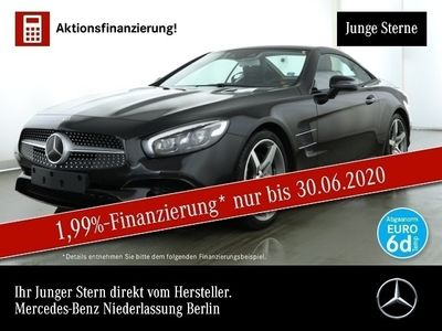 gebraucht Mercedes SL400 AMG Magic Sky COMAND Distr+ ILS LED TV
