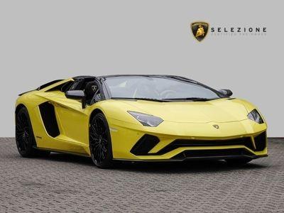 gebraucht Lamborghini Aventador S Roadster Giallo Tenerife Ad Personam