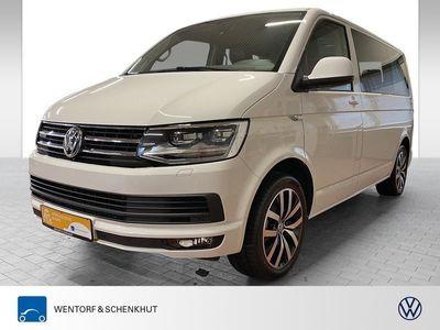 gebraucht VW Multivan T6 2.0 TDI 4Motion AHK Navi Leder LED