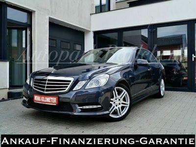 gebraucht Mercedes E350 E-Klasse Lim. E 350 CDI-AMG-1.HAND-SCHECKHEFT-