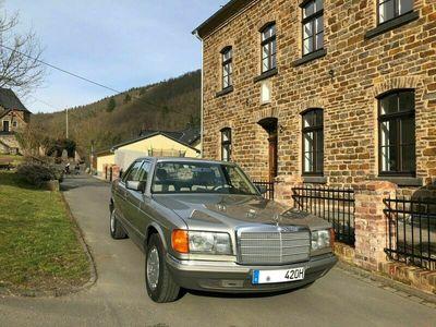 gebraucht Mercedes 420 Deutsches Fzg.* Zustand 2+* Velour beige