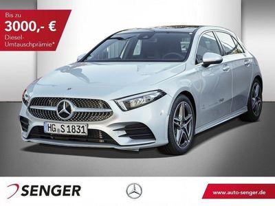 używany Mercedes A250 AMG Line Kamera Navi Panorama AHK LED Temp