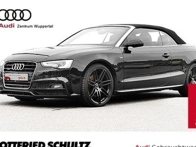 gebraucht Audi A5 Cabriolet 3.0TDI 218PS S-LINE EXTR.20SCHWARZ NAV+ KOPFRAUMHEIZUNG