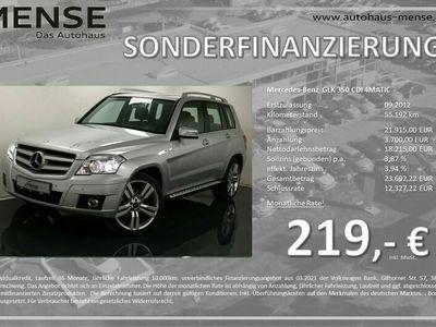 gebraucht Mercedes GLK350 CDI 4MATIC Navi STHZG AHK SHZG als SUV/Geländewagen/Pickup in Gütersloh