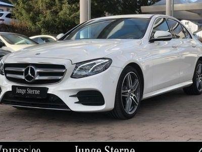 gebraucht Mercedes E220 4M AMG Sport Com LED Wide 360 AHK Umwelt