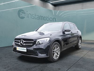 gebraucht Mercedes GLC250 GLC 250d 4M AMG Line Night Standhz ILS Navi Kam