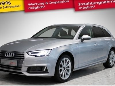 gebraucht Audi A4 Avant sport 2.0 TFSI quattro S line AHK LED