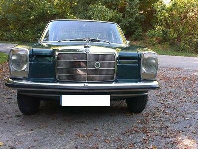 gebraucht Mercedes W115 /8220 Benzin Lenkradschaltung