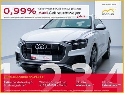 gebraucht Audi Q8 50 TDI QU*TIPTR*6D-TEMP*SLINE*STANDHZ*AHK*DAB