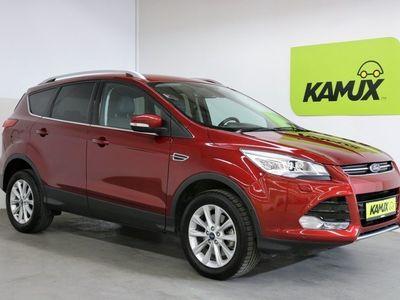 gebraucht Ford Kuga 1.5 EcoBoost Titanium 182PS Autom. EU6 +Bi-Xenon +Sportsitze +Leder +Einparkhilfe