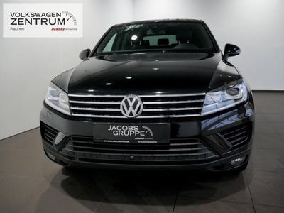 gebraucht VW Touareg 3.0 V6 TDI R-Line Navi Xenon Leder Klima
