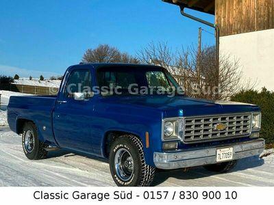 gebraucht Chevrolet C10 Shortbed Pickup, 350cui V8, TÜV & H als SUV/Geländewagen/Pickup in Dasing