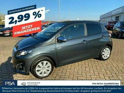 gebraucht Peugeot 108 TOP STYLE 1,0L72PS