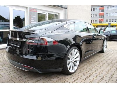 gebraucht Tesla Model S 85 Performance Panorama Lüftfederung