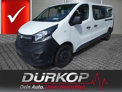gebraucht Opel Vivaro Combi L2H1 1.6CDTI 2,9t Navi Klima AZV Tempomat Rückfahrkamera