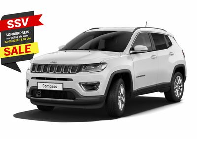 gebraucht Jeep Compass 1.3 150 Limited DSG Leder Nav in Kehl