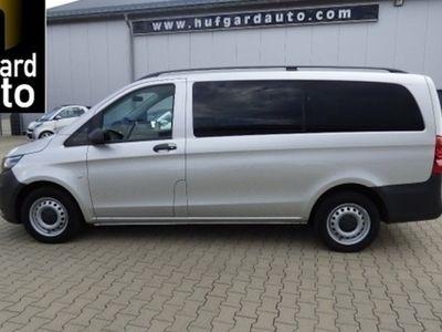 gebraucht Mercedes Vito 116 d BlueTec Lang 2x Klima 9-Sitze AHK