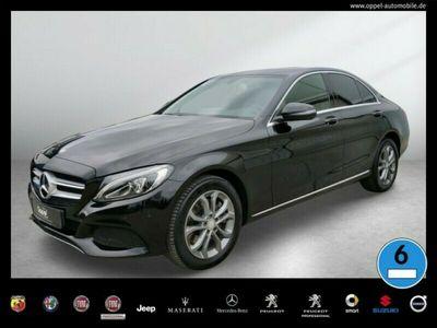 gebraucht Mercedes C250 d 4MATIC Avantgarde LED+SITZH.+TEMPOMAT+7G