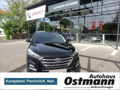 gebraucht Hyundai Tucson 2.0 CRDi Premium 4WD LED*RFK*EURO6