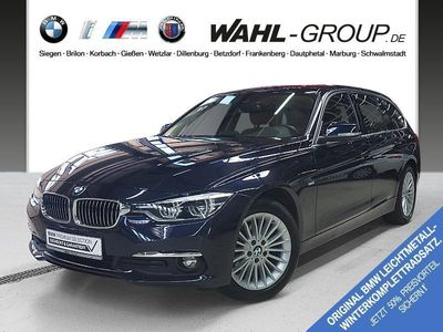gebraucht BMW 318 d Touring Luxury Line Head-Up LED Navi Bus.